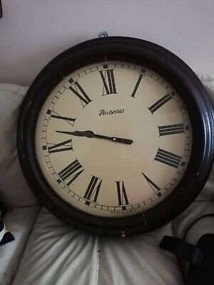 Antique american Ansonia Wall school Clock