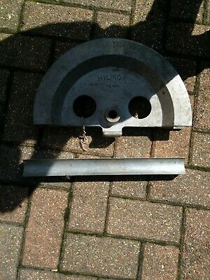 Record Hilmor Industrial Pipe bender 42mm former and guide made in england Tube