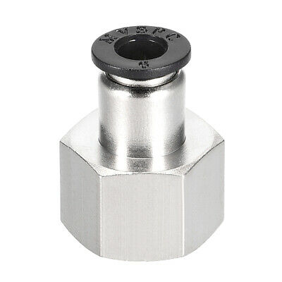 Push to Connect Tube Fitting Adapter 6mm OD x 3/8 NPT Straight Connecter