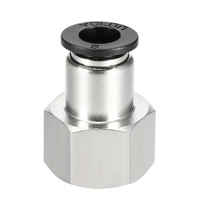 Push to Connect Tube Fitting Adapter 8mm OD x 3/8 NPT Straight Connecter