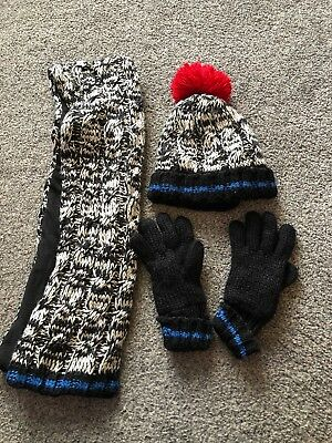 Marks & Spencer - 3 Piece Hat, Scarf And Glove Set