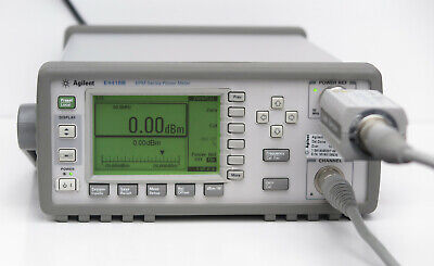 HP Keysight E4418B EPM Series Single-Channel Power Meter w/ E9300A Sensor, cable