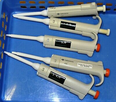 Labsystems 4500 5-40 ul adjustable pipette