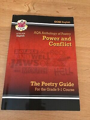 GCSE English Literature AQA Poetry Guide: Power & Conflict Anthology - For...