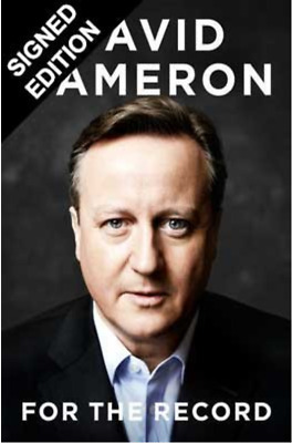 David Cameron For the Record: Signed First Edition (Hardback)