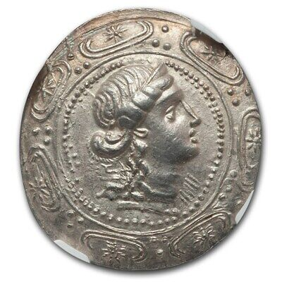 Macedon Under Rome Silver Tetradrachm - First Meris. Artemis