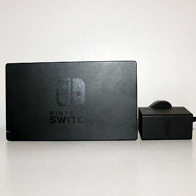 Genuine Official Nintendo Switch TV Dock Set with Power Supply