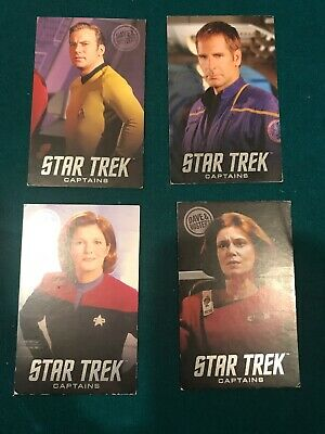 Coin Pusher Game Card Dave & Busters Star Trek Captains Limited Edition Lot
