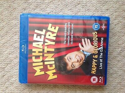 Michael McIntyre - Happy and Glorious [Blu-ray] [2015] [DVD][Region 2] Brand New