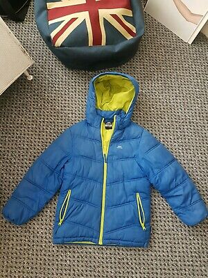 Trespass Boys Puffa Padded School Jacket/Coat With Removeable Hood