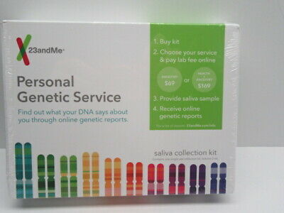 23andMe Personal Ancestry Saliva DNA Collection Kit  ***Lab Fee NOT Included***