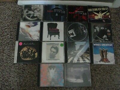 lot of 19 Paul McCartney cds and dvds