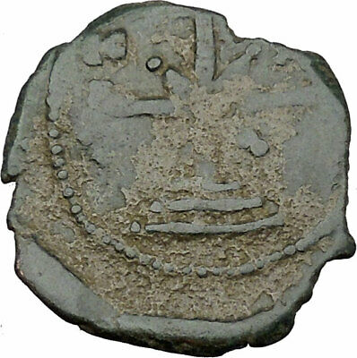 MANUEL I , Comnenus  1143AD Rare Ancient Byzantine Authentic Coin Cross i38027