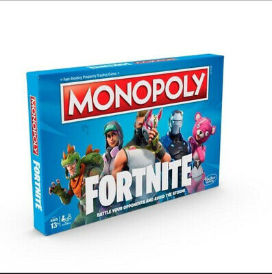 Monopoly: Fortnite Edition Board game.. Ideal Christmas gift