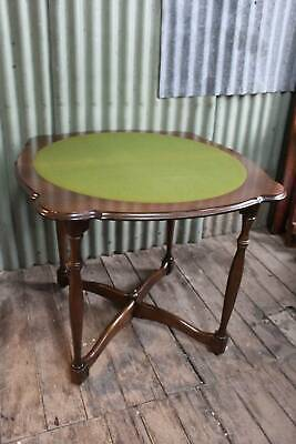 A Vintage Fold-Over Card Table - Hall Table - Flip Top Poker Table