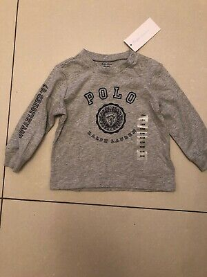 polo ralph lauren Baby Boys Top 12 Months Brand New With Tags On