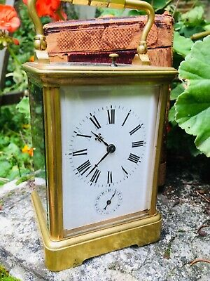 Carriage clock grande sonnerie french