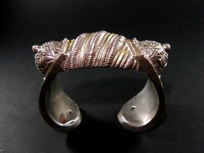 CHOICE 1700-1800s. POST MEDIEVAL ANTIQUE FERTILITY SILVER and GOLD BRACELET +++