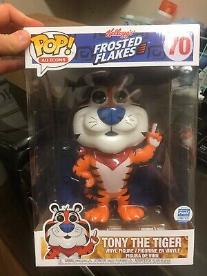 """Funko Pop! Tony the Tiger 10"""" Frosted Flakes Cereal Ad Icons"""