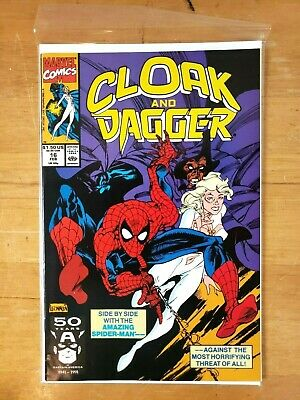 Cloak and Dagger #17 VF 1991 Stock Image