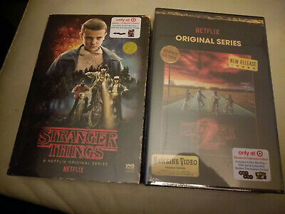 Stranger Things Season 1 and 2( Blu-Ray/DVD set) Target Exclusive. Brand NEW