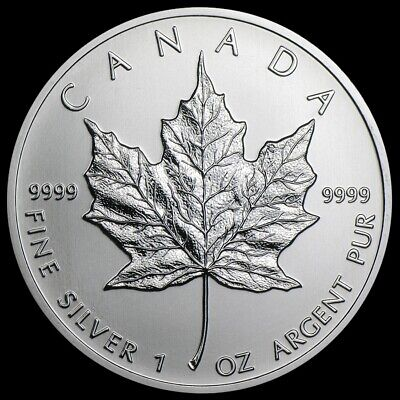 2013 CANADA $5 1oz .9999 Silver Maple Leaf Brilliant Uncirculated Coin