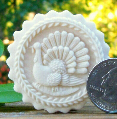 NEW-Turkey Springerle Cookie or Confection Mold Usable Art