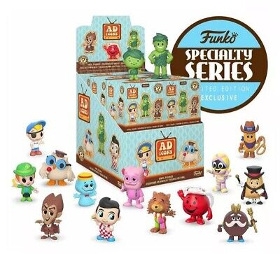 Funko AD ICONS Mystery Minis (Specialty Series) SEALED CASE of 12 Figures +BONUS