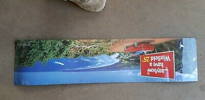 ANYHOW HAVE A WINFIELD RED 25s CIGARETTE ADVERTISING PLASTIC DOUBLE SIDED SIGN