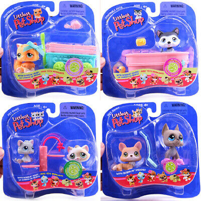 Littlest Pet Shop Collectors lps cat and dog playset Christmas gift for children