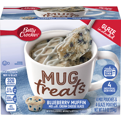 Betty Crocker Mug Treats Blueberry Muffin, 11.8 oz