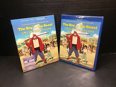 The Boy and the Beast (Blu-ray/DVD, 2016) Anime Movie Collection
