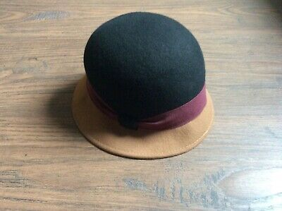 Filippo Catarzi 100th Anniversary made in Italy wool hat in excellent condition
