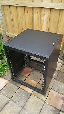12 RU AV Rack With Sides and Top