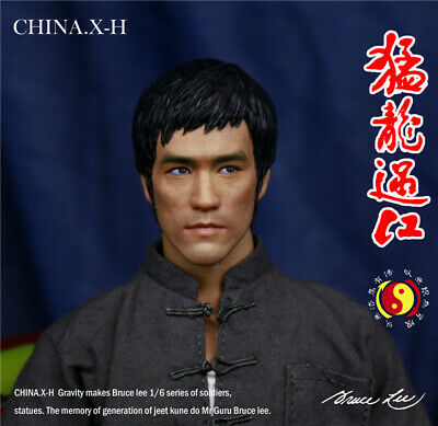 CHINA.X-H Bruce Lee Way of the Dragon 1:6 Figure Limited Statue Deluxe IN STOCK