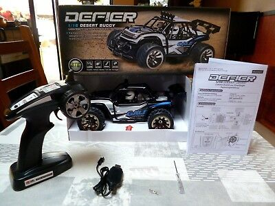 RC ➤ Voiture véhicule Buggy radio commande Monster truck 15 Km/h offroad 2 RM