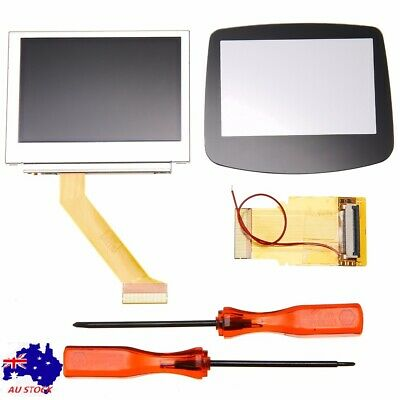 For GameBoy Advance GBA SP AGS-101 MOD LCD Backlight Screen Kit 32/40 Pin