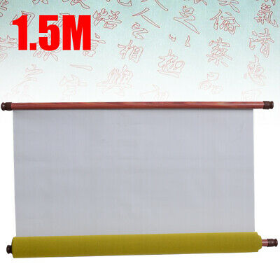Reusable Chinese Magic Cloth Water Paper Calligraphy Fabric Notebook 1.5m diy AU