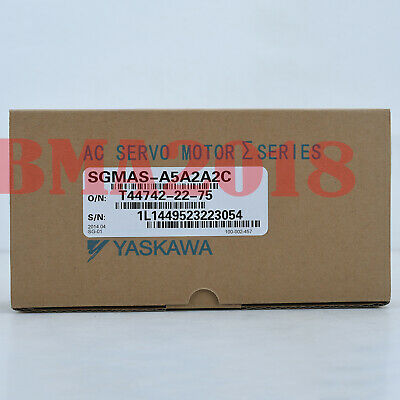 1PC New Brand Yaskawa Servo Motors SGMAS-A5A2A2C One year warranty Fast delivery
