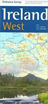 Holiday Map - Ireland West (Irish Maps, Atlases and Guides) . F233-1045
