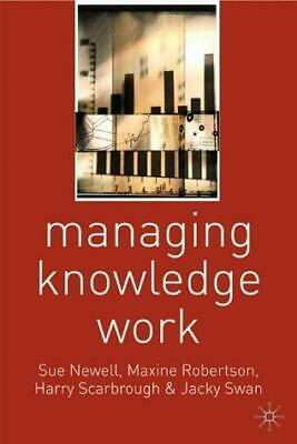 Managing Knowledge Work. F189-1002