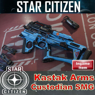 Star Citizen - Kastak Arms Custodian SMG - CitizenCon 2947 (Rares Ingame Item)