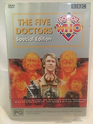 Doctor Who The Five Doctors DVD