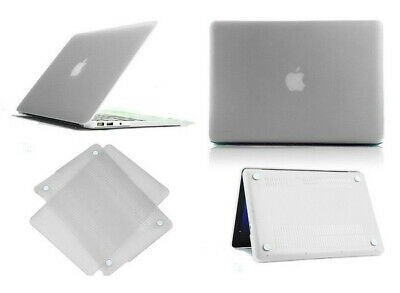 "Plastic Crystal Clear Hardshell Hard Case For Apple Macbook Air 11.6"" / 13.3"""