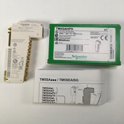 Schneider Electric TM5SAI4PH Analog input module Modicon Eingangsmodul New NFP
