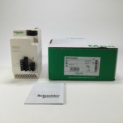 Schneider Electric BMXCPS4002 redundant HP AC Power Supply X80 Modicon New NFP