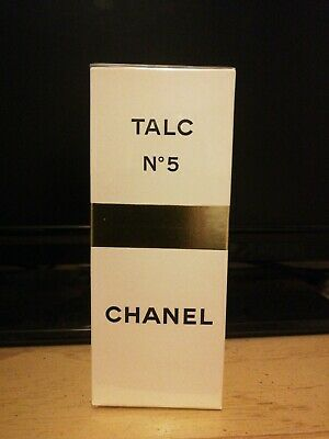 VINTAGE CHANEL No 5 SEALED TALC 100g UNUSED - 1970's Pre Barcode
