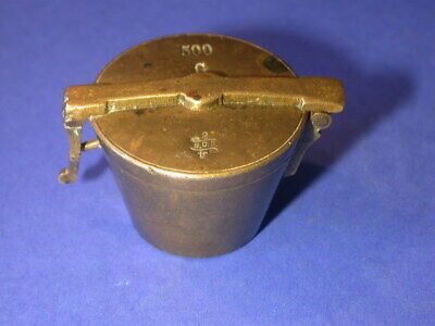 bg590, Bechergewicht, Gewicht, weight, brass, nested cup, scale, waage, Crossen,