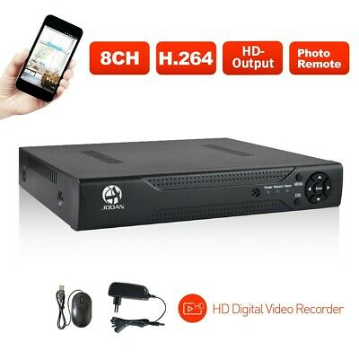 JOOAN 8CH 1080P HDMI 5IN1 DVR Video Recorder CCTV Camera Security System NO HDD