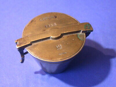 bg589, Bechergewicht, Gewicht, weight, brass, nested cup, scale, waage, Crossen,